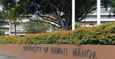 International Scholarships at University of Hawaii in USA 2020