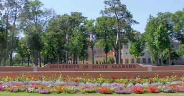Global Scholarships at University of South Alabama in USA 2020