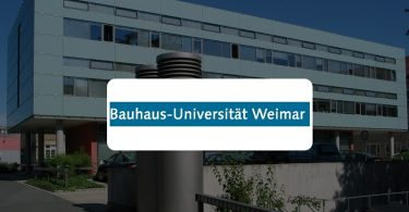 Scholarships at Bauhaus-University Weimar in Germany 2020
