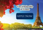 Top Scholarships to Study in France 2020/2021