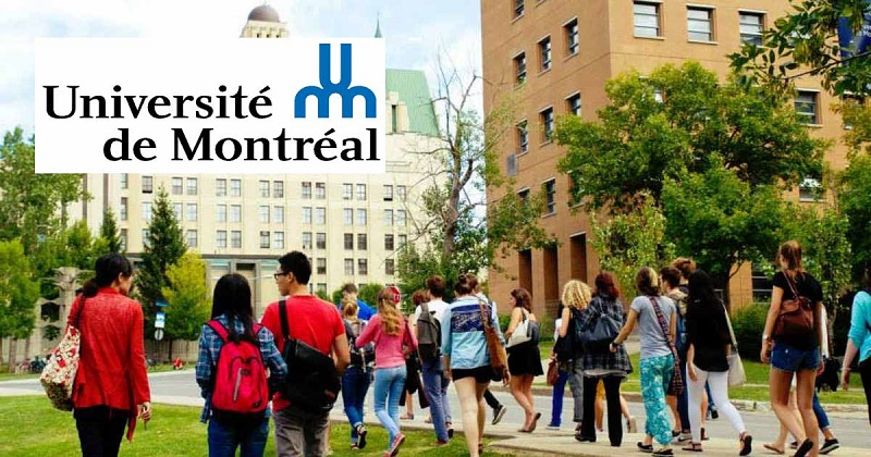 Photo of International Student Scholarship Program at University of Montreal in Canada 2020