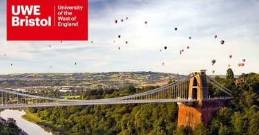 Dean's Scholarship at UWE Bristol in UK 2020