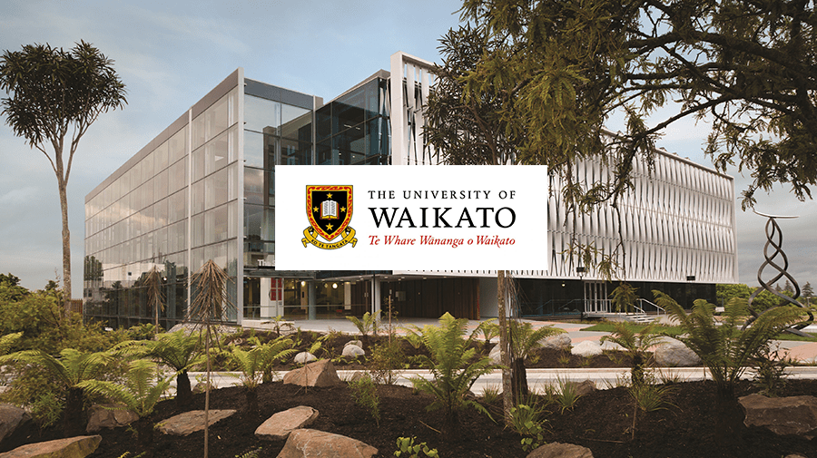 Photo of Terry Healy Memorial Awards at University of Waikato in New Zealand 2020