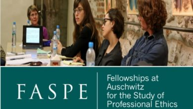 Photo of Fellowships at Auschwitz for the Study of Professional Ethics 2022