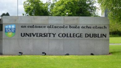 Photo of Cormac Costelloe Dell Financial Services Scholarship at UCD in Ireland 2021