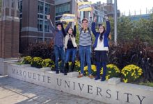 Photo of Global Scholar Award at Marquette University in USA 2022