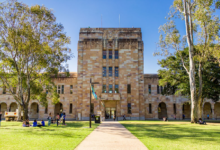 Photo of Howard and Gladys Sleath Scholarship at UQ in Australia 2021