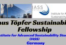 Photo of Klaus Topfer Sustainability Fellowship in Germany 2021