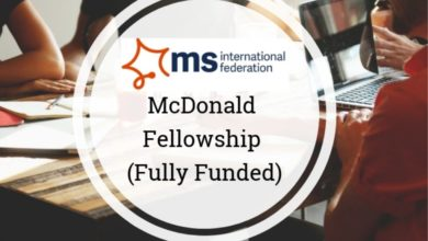 Photo of McDonald Fellowship Programme 2021