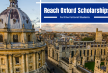 Photo of Reach Oxford Scholarships in UK for Developing Country Students 2022
